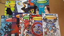 Batman incorporated Comic Lot new 52 0 1-4 6-9 tpb leviathon nm bagged