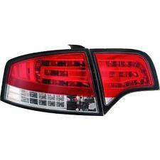 Paar scheinwerfer rücklichter TUNING AUDI A4 2004 >2007 LED limousine rot Weiß