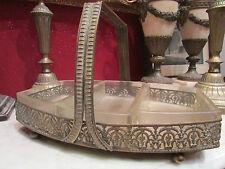bel ancien serviteur en cuivre et verre de style louis XVI epoque 1900
