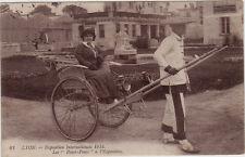 CPA -69-  LYON - Les Pouss-Pouss à l'Exposition Internationale 1914.