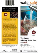 Lead in Water Test Kit by WaterSafe, Fast, Easy Lead in Water Test