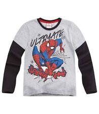 T-shirts, débardeurs et chemises gris Marvel pour garçon de 2 à 16 ans