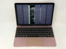 MacBook 12 Rose Gold Early 2016 MMGM2LL/A 1.2GHz m5 8GB 512GB - READ - Bad LCD