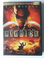 Vin Diesel The Chronicles Of Riddick Unrated Director's Cut DVD 2004