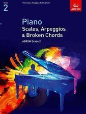 ABRSM Pianoforte scale, arpeggi & Broken Chords, Grade 2-lo stesso giorno P + P