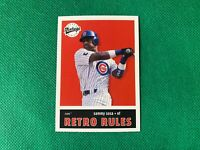 2001 Upper Deck Vintage Retro Rules #R4 Sammy Sosa Chicago Cubs
