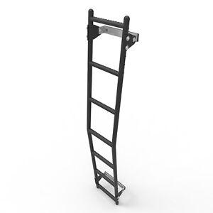 Mercedes Sprinter Rear Door Ladder - 7 Rung fits Med H2 + High H3 Roof Vans (DL)
