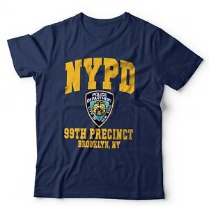 Brooklyn 99 Precinct Badge T Shirt Unisex - Funny, Comedy, Nine-Nine, Samberg