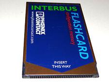 Phoenix contact ibs mc Flash 2mb Interbus flashcard Ord nr 2729389 Top