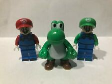 Mario Bros Set For Lego Action Figures