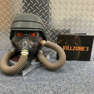 Killzone 3 Collectors Edition Helghast Gas Mask Helmet With Art Book
