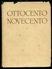 BRIZIO Anna Maria, Storia universale dell'arte Volume sesto Ottocento Novecento