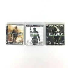 Call of Duty Lot Modern Warfare 2, 3 And 4 PS3 PlayStation 3