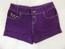 No Pattern Unbranded Machine Washable Low Shorts for Women