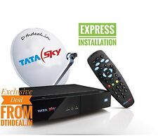 Tata Sky HD Box with 1 Month Dhamaka HD 199 Pack with HD access<worth 95 *FREE*>