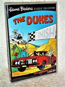 The Dukes Complete Series (DVD, 2018, 4-Disc) Hanna Barbera animated of hazzard