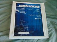 2004 Polaris Sea-Doo Seadoo Jet Ski 3d RFI Watercraft Repair Service Shop Manual