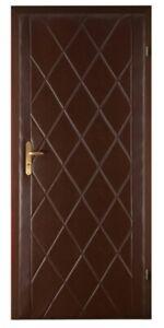 Türverkleidung Türpolsterung Türpolster Schallschutz Wärmedämmung Tür nuss braun