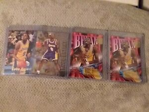 Kobe Bryant 1996-97 Ultimate Rookie Lot Z Force Metal Stadium Club No Reserve!