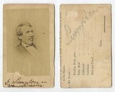 CDV STUDIO PORTRAIT DAVID LIVINGSTONE MISSIONARY/AFRICAN EXPLORER 1813-73