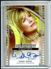 Debby Boone 2011 Leaf Pop Century Autograph #08/25
