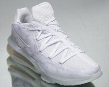 Nike LeBron XVII Low White Camo Men's James Platinum Basketball Sneakers Shoes
