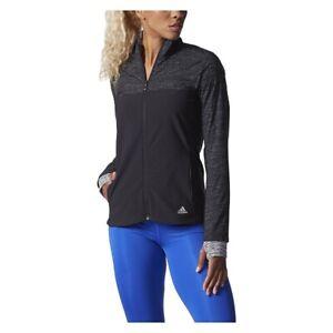 Adidas Women's Black Climastorm Supernova Lightweight Storm Jacket AA5547