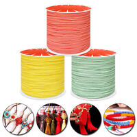 45M Beading Wire Thread Macrame String Cotton Necklace Bracelet Braided Cord DIY