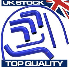 TVR Chimaera Serpentine 7 Piece Coolant Silicone Hose Kit - BLUE