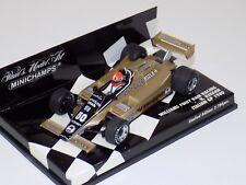 1/43 Minichamps F1 Williams Ford FW07 Penthouse 1980 R.Keegan Italian GP
