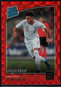 2018-19 Donruss Soccer - Press Proof Red - Pick A Card
