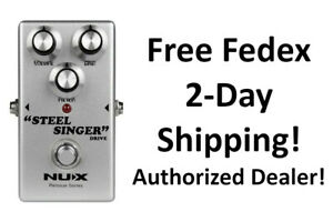 New NUX Steel Singer Drive Overdrive Guitar Effects Pedal