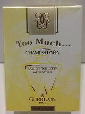 GUERLAIN CHAMPS-ELYSEES TOO MUCH EDT VAPO - 50 ml/1.7fl.oz VINTAGE RARE perfume