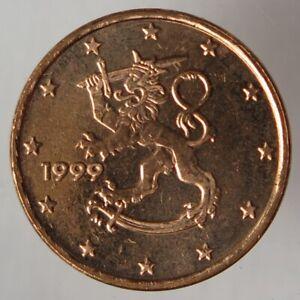 FI00199.1 - FINLANDE - 1 cent - 1999