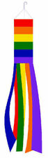 "60"" Rainbow WINDSOCK Gay Pride Lesbian LGBT Flag OUTDOOR INDOOR f"
