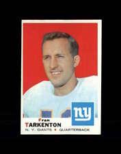 1969 Topps Football #150 Fran Tarkenton STARX 6 EX/MT  CS84488