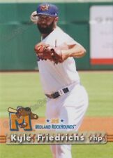 2018 Midland RockHounds Kyle Friedrichs RC Rookie Oakland Athletics