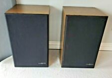 2 Phase Tech Technology Euro Series Model 335 Es Bookshelf Speakers Working Pair