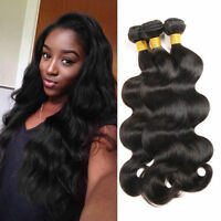 8A 3bundles/150g Brazilian Body Wave Human Hair Extension Virgin Remy Hair Weft