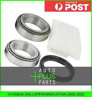 Fits HYUNDAI GALLOPER/INNOVATION 2000-2003 - FRONT WHEEL BEARING REPAIR KIT
