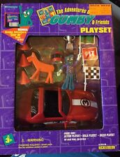 The Adventures of Gumby and Friends Race Car Racer Playset w/ Floppy Disc