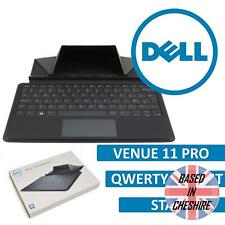 Official Dell Venue 11 Pro Slim Keyboard (QWERTY) Stand Slim Black Folio Cover