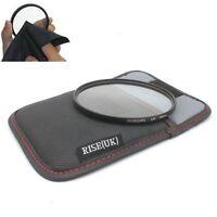 RISE(UK) 95mm UV Filter Lens Protector forNikon Canon Pentax Sigma +Bag +Cloth