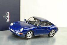 1995 Porsche 911 993 Coupe Blau metallic 1:18 Norev 187593
