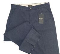 Levi's Sta Prest Denim Pants Chinos Wide Raw Leg Crop Streetwear Men Sz 31 NWT
