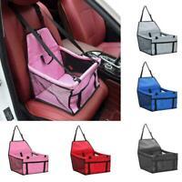 Pet Dog Cat Travel Car Seat Carrier Belt Booster Basket HOT Black Bag B9F9
