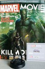 MARVEL MOVIE COLLECTION #72 Black Panther Killmonger Figurine Eaglemoss engl