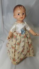 """Composition Girl Doll Snow White Type 13"""" Tall"""