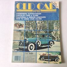 Old Car Illustrated Magazine Duesenberg Suprercharger July 1977 060117nonrh2