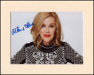 Catherine O'Hara Home Alone Schitt's Creek Original Signed Mount Autograph Photo